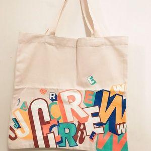 J.Crew Canvas Tote Bag